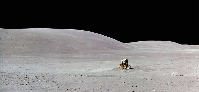 Image result for apollo 16 moon landing